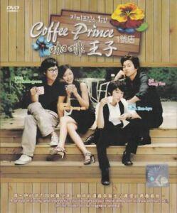 Coffee Prince Korean Drama DVD with Good English Subtitle