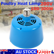 Poultry Heat Lamp Bulb Warming Light For Brooder Piglets Chicken Pet 100-300W AU