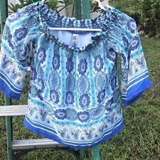 girl's Off The Shoulder top size M