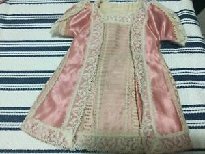 Antique VICTORIAN French Styled Dress for your antique doll No 91