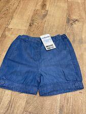 Girls 3-4 JoJo Maman Bebe Denim cotton Shorts