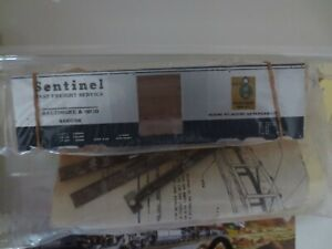 Athearn HO Metal Line B&O SENTINEL [ Wood/Metal Kit ]