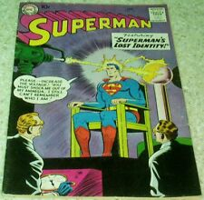 Superman 126, VF- (7.5) 1959 Superman's Lost Idenity! 30% off Guide