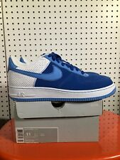 Nike Air Force 1 2007 Diamond Royal 07 Size 11 AF1 315122-441 Blue/white
