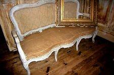 LouisXV Barock Sofa Stuhl Sitzbank Sitzmöbel Sessel  armchair Schweden Sofa
