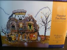 Dept 56 Haunted Fun House Gift Set / Snow Village Halloween - Mib / Mint in Box