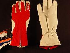 New Reusch Leysin Primaloft Ski Gloves White & Red Womens Small (7) #2783109