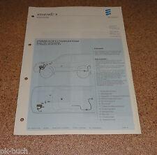 Einbauanleitung Eberspächer Standheizung B 5 W S für Toyota Land Cruiser 06/2000