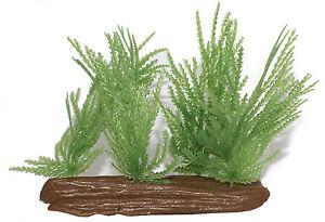 Aquarium plastic plants - set of 4