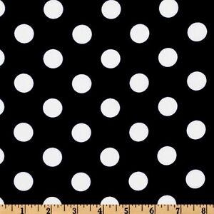 """50 Polka Dot Shiny Satin Chair Sashes Bows 6""""x108"""" 6 Colors Wedding Party Dots"""