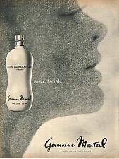 PUBLICITE  1967   GERMAINE MONTEIL  cosmétiques
