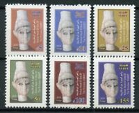 Syria 2018 MNH Princess of Ugarit Ogarit 6v Set Sculpture Art Artefacts Stamps