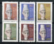 Syria 2018 MNH Princess of Ugarit Ogarit 6v Set Sculpture Art Artefacts Stamps