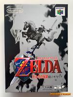 BRAND NEW THE LEGEND OF ZELDA Ocarina Of Time Nintendo 64 N64 JAPAN