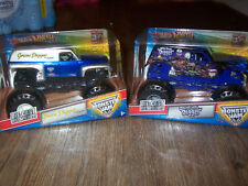 NEW Hot Wheels Monster Jam Grave Digger Legend & Son-Uva Digger 30th Anniversary
