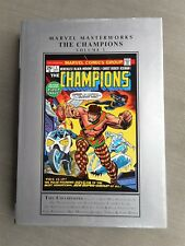 MARVEL MASTERWORKS THE CHAMPIONS VOL 1 VO EXCELLENT ETAT / NEAR MINT