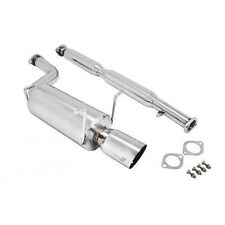 Manzo Stainless Steel Catback Muffler Exhaust for G35 03-06 4DR Sedan AWD & RWD