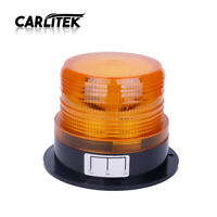 LED Car Strobe Light Beacon Emergency Warning Lamp Alarm Caution Light Amber 12V