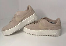 "NEW Women's Nike Air Force 1 Sage Low ""Particle Beige"" AR5339-201 Size 8 pink"