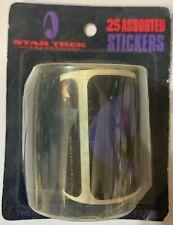 1994 STAR TREK GENERATIONS 25 ASSORTED STICKERS BUTTONS EXCHANGE LTD SEALED