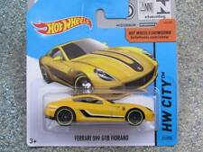 Hot Wheels 2015 #021/250 FERRARI 599 GTB FIORANO yellow New Casting CASE A