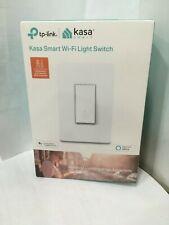 Kasa Smart WiFi Single Pole Light Switch - White, New in Unopened Box Hs200