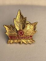 AIR CANADA AIRLINES Maple Leaf Metal Pin