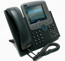 Cisco CP-7970G -SIP ASTERISK Ready VoIP PoE Color LCD Touch Screen Phone 7970G