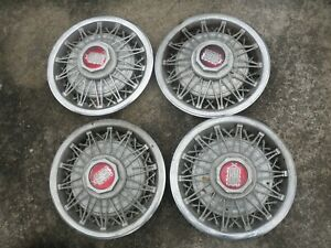 1979 to 82 Ford LTD & Mercury Marquis Factory Wire Hubcaps 14""