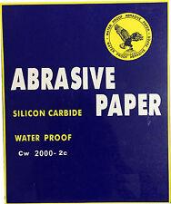 SandPaper Wet and Dry 60 Grit - 7000 Grit Abrasive Paper Sanding
