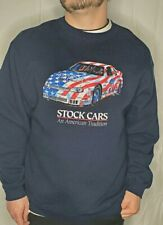 Vintage Pluma Heavyweight Fleece Stock Cars An American Tradition Xl Sweatshirt