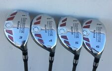 iDrive Made Hybrids #3 #4 #5 #6 Taylor Fit REGULAR Graphite Rescue Iron Woods
