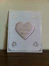 White Wedding Day Guest Book Good Engagement Gift