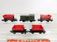 CM941-0,5# 5x Märklin H0/AC Güterwagen/Güterzuggepäckwagen: 4513 + 4600