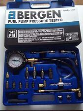 BERGEN FUEL PUMP PRESSURE TESTER for Schrader Test Port Systems Petrol & Diesel