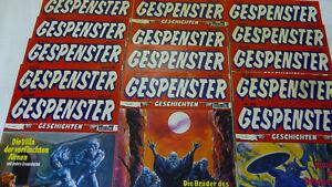 Gespenster Geschichten  Auswahl  400 - 600  Horror Comic Wäscher Grusel Bastei