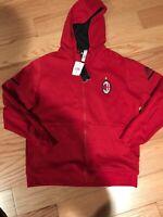 Adidas 2017 AC Milan Anthem Jacket Red Size XL BNWT BP8186 Cotton ZNE Rare