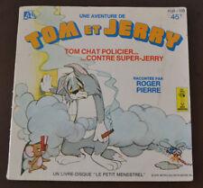 livre disque 45T Tom et Jerry