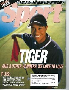 2000 APRIL Sport Magazine golf Tiger Woods VG