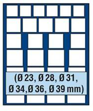 SAFE 6868 NOVA Element exquisite Holz-Münzbox für 27 Münzen mit verschiedenen Du