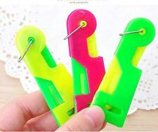 3pcs Creative Automatic Needle Threader Elderly Use Thread Guide Sewing Device