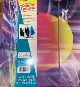 "Trapper Keeper ~ Binder Retro Portfolio Folder 2020 Mead (C) 12 3/16"" x 11 1/4"""