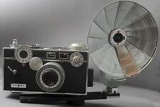 Vintage ARGUS C3 'The Brick' Rangefinder Camera F3.5 50mm Cintar Lens LIGHT