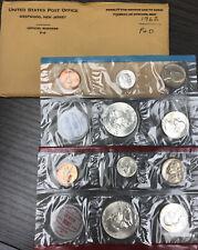 1962  P & D US Uncirculated Mint Set with  Envelope
