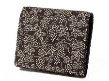 "Deer Leather Two Fold Wallet ""INDEN 2204"" Japan Original Traditional Craft New"