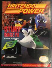 Nintendo Power Magazine VOL. 63 Stunt Race FX Cover w/The Incredible Hulk Poster
