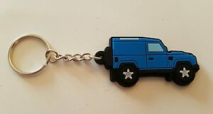 Landrover 90 Key Anello Hardtop Light Blue