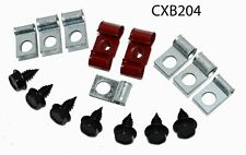 67 Chevrolet Corvette Brake Line Clip clamp bracket Set kit NOS R