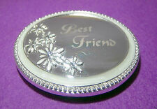 Silver Makeup Compact Mirrors
