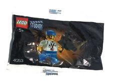 Rare LEGO Studios 4053 Cameraman Promotional Polybag, CMF, New sealed  FREE SHIP